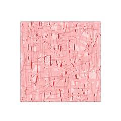 Elegant pink pattern Satin Bandana Scarf