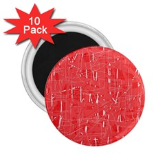 Red pattern 2.25  Magnets (10 pack)