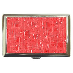 Red pattern Cigarette Money Cases