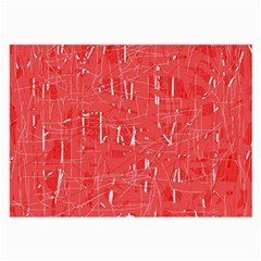 Red pattern Large Glasses Cloth