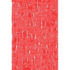 Red pattern 5.5  x 8.5  Notebooks
