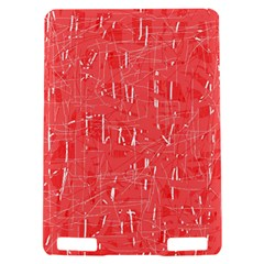 Red pattern Kindle Touch 3G