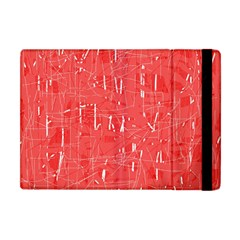 Red pattern Apple iPad Mini Flip Case