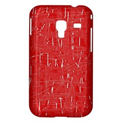 Red pattern Samsung Galaxy Ace Plus S7500 Hardshell Case