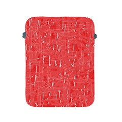 Red pattern Apple iPad 2/3/4 Protective Soft Cases