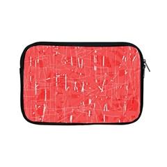 Red pattern Apple iPad Mini Zipper Cases