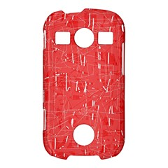 Red pattern Samsung Galaxy S7710 Xcover 2 Hardshell Case