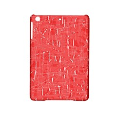 Red pattern iPad Mini 2 Hardshell Cases