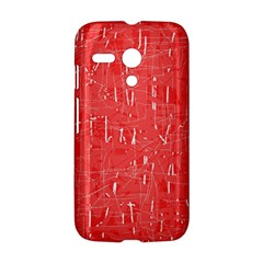 Red pattern Motorola Moto G