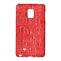 Red pattern Galaxy Note Edge
