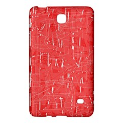 Red pattern Samsung Galaxy Tab 4 (7 ) Hardshell Case