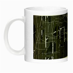 Gray pattern Night Luminous Mugs