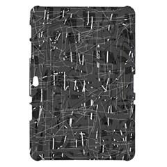 Gray pattern Samsung Galaxy Tab 10.1  P7500 Hardshell Case