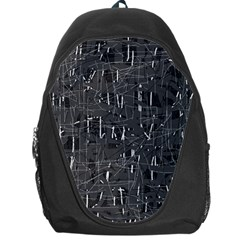 Gray pattern Backpack Bag