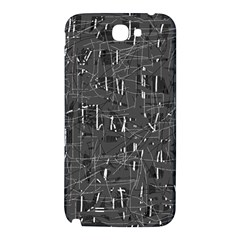 Gray pattern Samsung Note 2 N7100 Hardshell Back Case
