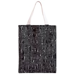 Gray pattern Classic Light Tote Bag