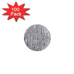 Gray pattern 1  Mini Magnets (100 pack)