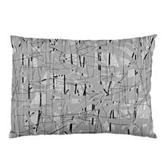 Gray pattern Pillow Case