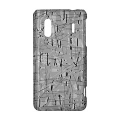 Gray pattern HTC Evo Design 4G/ Hero S Hardshell Case