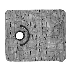 Gray pattern Samsung Galaxy S  III Flip 360 Case