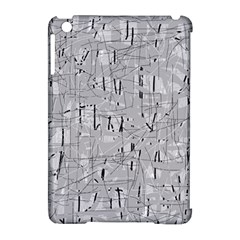 Gray pattern Apple iPad Mini Hardshell Case (Compatible with Smart Cover)