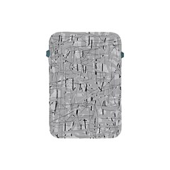 Gray pattern Apple iPad Mini Protective Soft Cases