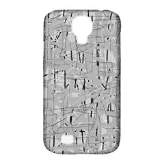 Gray pattern Samsung Galaxy S4 Classic Hardshell Case (PC+Silicone)