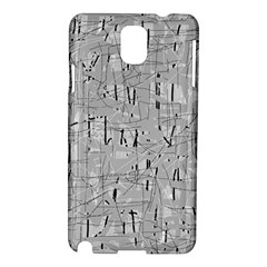 Gray pattern Samsung Galaxy Note 3 N9005 Hardshell Case