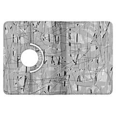 Gray pattern Kindle Fire HDX Flip 360 Case