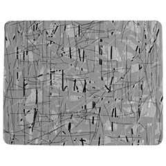 Gray pattern Jigsaw Puzzle Photo Stand (Rectangular)