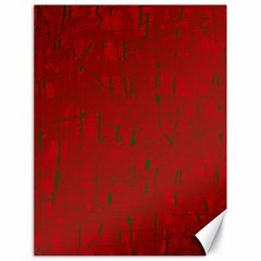 Red pattern Canvas 18  x 24