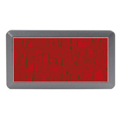 Red pattern Memory Card Reader (Mini)