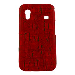 Red pattern Samsung Galaxy Ace S5830 Hardshell Case