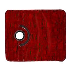 Red pattern Samsung Galaxy S  III Flip 360 Case