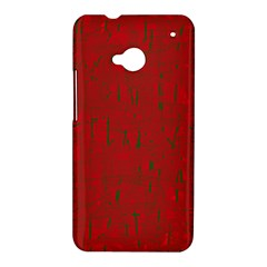 Red pattern HTC One M7 Hardshell Case
