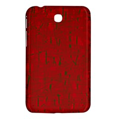 Red pattern Samsung Galaxy Tab 3 (7 ) P3200 Hardshell Case