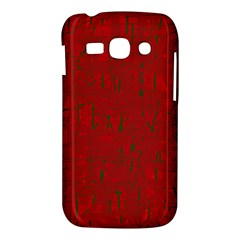 Red pattern Samsung Galaxy Ace 3 S7272 Hardshell Case