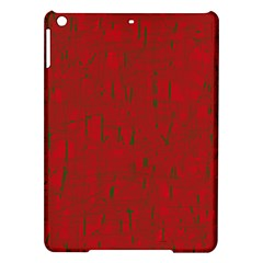 Red pattern iPad Air Hardshell Cases