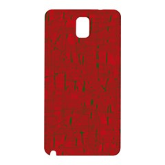 Red pattern Samsung Galaxy Note 3 N9005 Hardshell Back Case