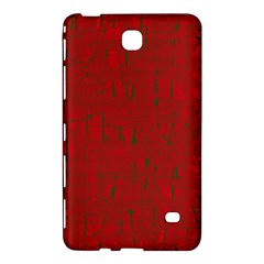 Red pattern Samsung Galaxy Tab 4 (8 ) Hardshell Case
