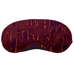 Purple pattern Sleeping Masks