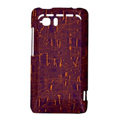 Purple pattern HTC Vivid / Raider 4G Hardshell Case