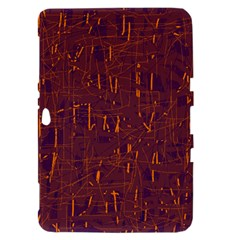 Purple pattern Samsung Galaxy Tab 8.9  P7300 Hardshell Case