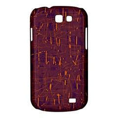 Purple pattern Samsung Galaxy Express I8730 Hardshell Case
