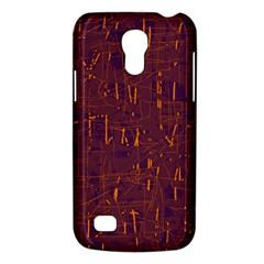 Purple pattern Galaxy S4 Mini