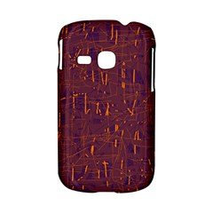 Purple pattern Samsung Galaxy S6310 Hardshell Case