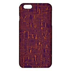 Purple pattern iPhone 6 Plus/6S Plus TPU Case
