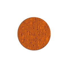 Orange pattern Golf Ball Marker