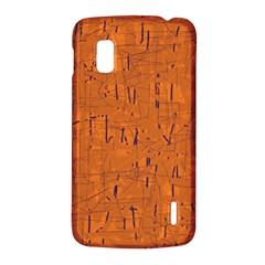 Orange pattern LG Nexus 4
