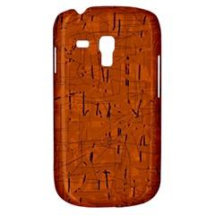 Orange pattern Samsung Galaxy S3 MINI I8190 Hardshell Case